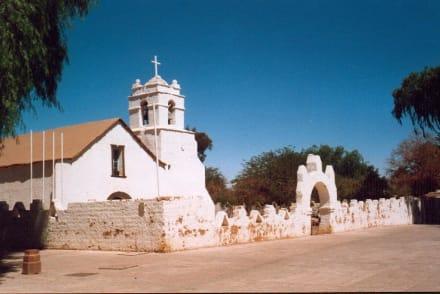 Dorfkirche von San Pedro de Atacama - San Pedro de Atacama