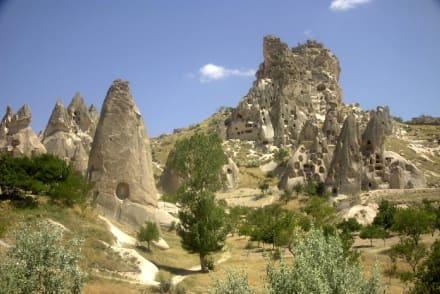Felsenhäuser in Kappadokien - Göreme Nationalpark