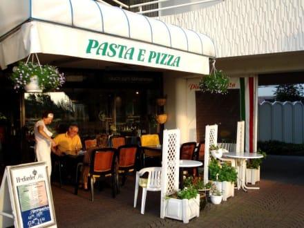 Außenansicht des Restaurants - Pizza e Pasta