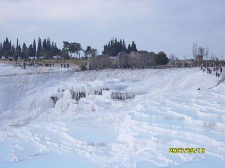 Die weißen Stufen! - Kalksinterterrassen von Pamukkale