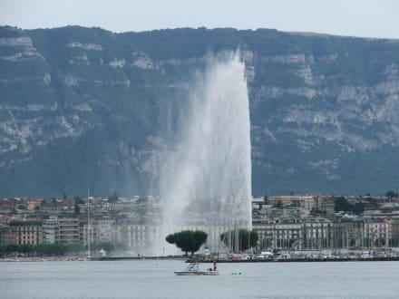 Sonstige Sehenswürdigkeit - Wasserfontäne Jet d'Eau