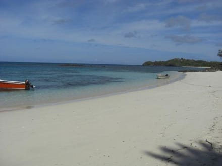 Einsame Insel - Strand Yasawa Island