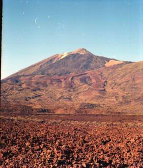 Lavafelder auf dem Teide - Teide Nationalpark