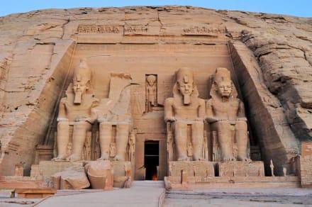 Tempel von Abu Simbel - Tempel von Abu Simbel