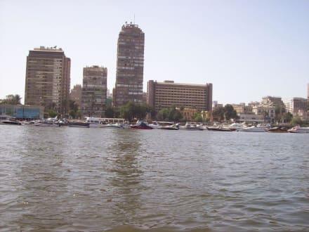 Sharia el Giza - Bootstour auf dem Nil