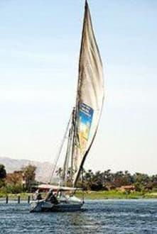 Segelboot auf dem Nil/Luxor - Geführte Touren Karim Tours Hurghada