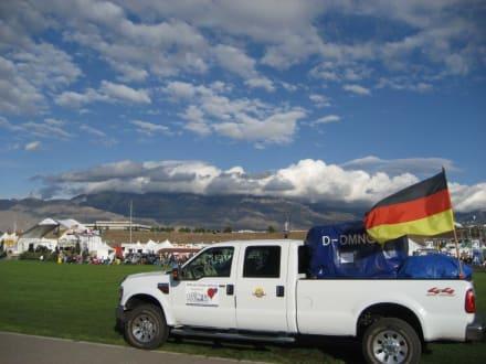 Unser Track auf dem Field - Ballon Fiesta
