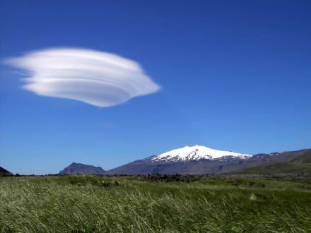 Gletscher Snaefellsjökull - Halbinsel Snaefellsnes