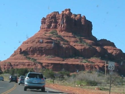 Sedona Rote Felsen - Red Mountains