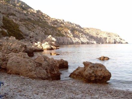 Anthony Quinn Bucht auf Rhodos - Anthony Quinn Bucht