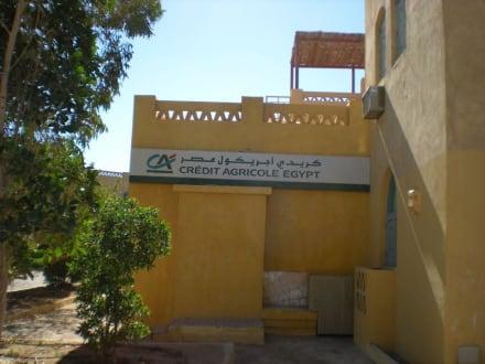 Eine Bank ist auch vorhanden! - Ausflug nach El Gouna
