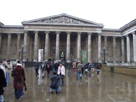 British Museum Haupteingang - British  Museum