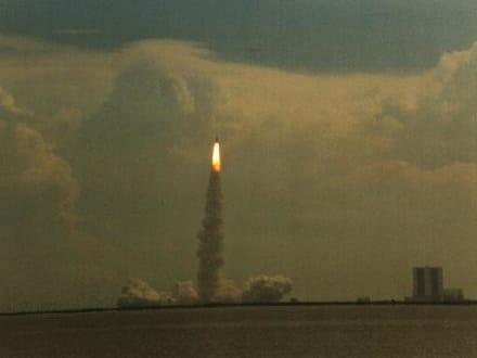 Raketenstart - Kennedy Space Center