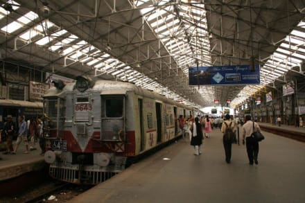 Churchgate Station in Mumbai - Bombay