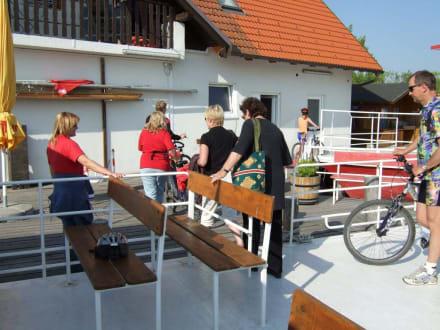Endstation Hafen Illmitz - Gangl Radfähre