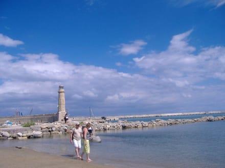 Leuchtturm - Hafen Rethymno