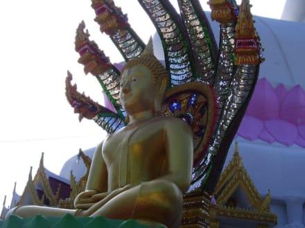 Statue - Weisser Buddha