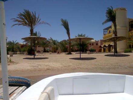 Anlegestelle - Lagunenfahrt durch El Gouna
