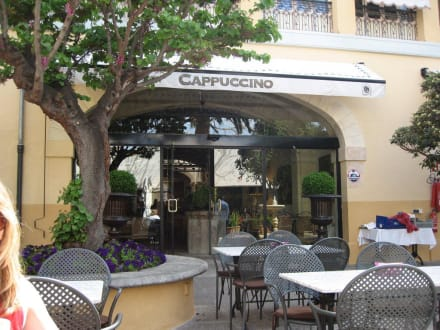 Innenhof Cafe Cappucino Altstadt  Palma - Cafe Cappuccino