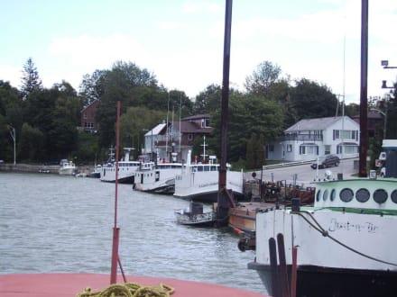Southampton, der schönste Fischerhafen Kanadas - Fischereihafen Southampton