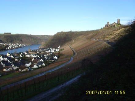 Alken an der Mosel mit Burg Thurant - Burg Thurant