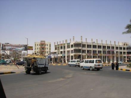 Baustellen Innenstadt - Zentrum Hurghada