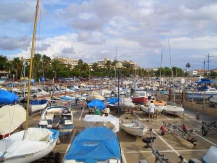 Hafen Colonia de Sant Jordi - Yachthafen Colonia Sant Jordi
