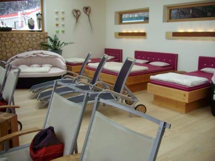 Ruheraum im Wellness-Bereich - Hotel Seetal