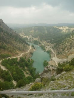 Ausflug - Green River - Oymapinar Baraji/ Stausee Green Lake & Green Canyon