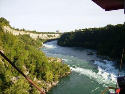 Blick aus dem Aero Car, Niagara - Niagarafälle / Horseshoe Falls