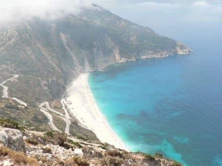 Strand von Myrtos - Myrtos Strand