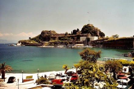 Kerkyra, Alte Festung - Hafen Korfu Stadt/Kerkyra