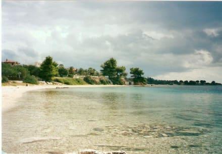 Badebucht - Strand Nikiti/Elia