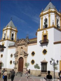 Kirche in Ronda - Altstadt Ronda