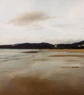 der weitläufige Strand von Karon Beach - Strand Karon