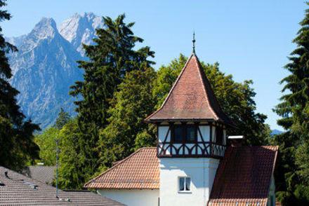 Ausblick - H+ Hotel Alpina Garmisch-Partenkirchen