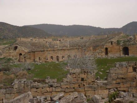 Antike - Kalksinterterrassen von Pamukkale