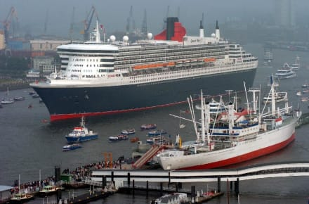 Queen Mary II - Hafen Hamburg
