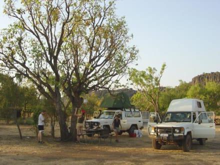 Camping im Windjana Gorge Nt. Park - Windjana Gorge