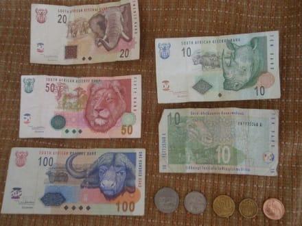 Südafrikanische Währung 1: Rand - Geldwechsel/Banken