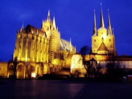 Dom und Severi in Erfurt - Erfurter Dom