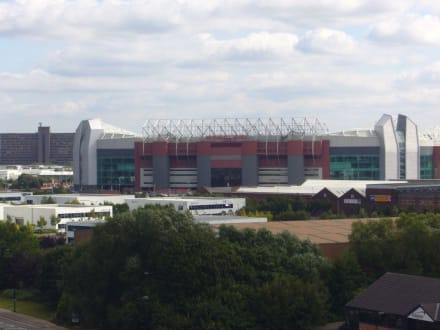 Stadion Manchester United - Salford Quays Manchester