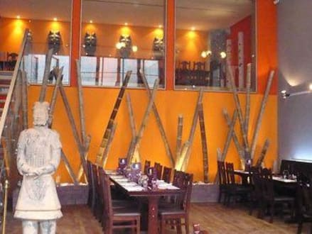 Sitzecke - Bamboo Restaurant