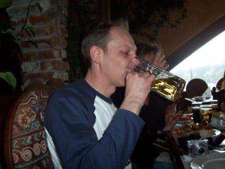 Olaf und das Bier - HolidayCheck User-Treffen Nord