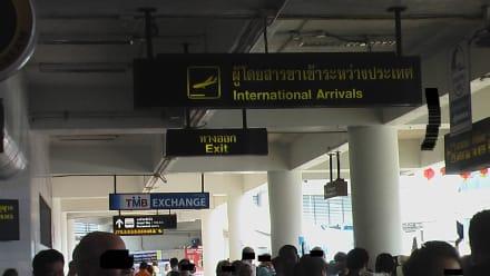 Eingang - Abfluhalle - Flughafen Phuket (HKT)