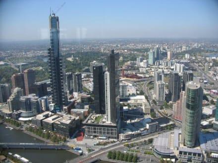 Melbourne von oben - Melbourne Observation Deck
