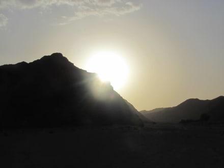 Sonnenuntergang - Geführte Touren Morgenland Reisen