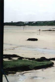 Der gefährliche Weg zum Inselfriedhof - Inselfriedhof