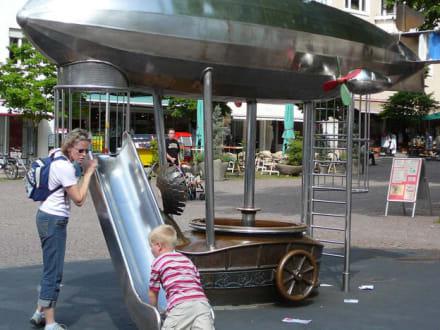 Kinderspielplatz des Zeppelin-Museums - Zeppelin Museum
