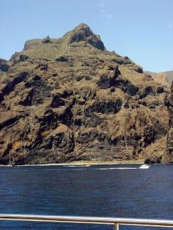 Felsen von  Los Gigantes - Steilküste Los Gigantes